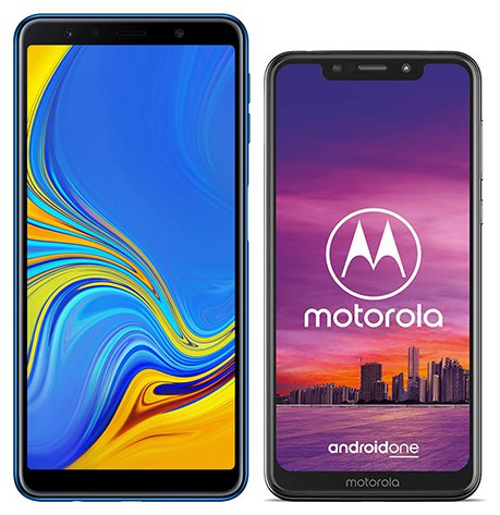 Smartphone Comparison: Samsung galaxy a7 2018 vs Motorola one