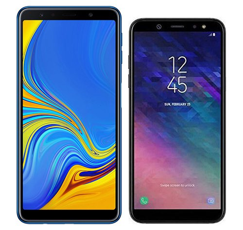 Smartphone Comparison: Samsung galaxy a7 2018 vs Samsung galaxy a6