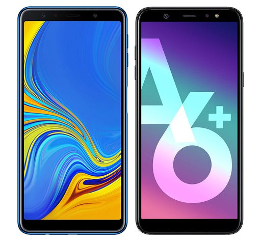 Smartphone Comparison: Samsung galaxy a7 2018 vs Samsung galaxy a6 plus