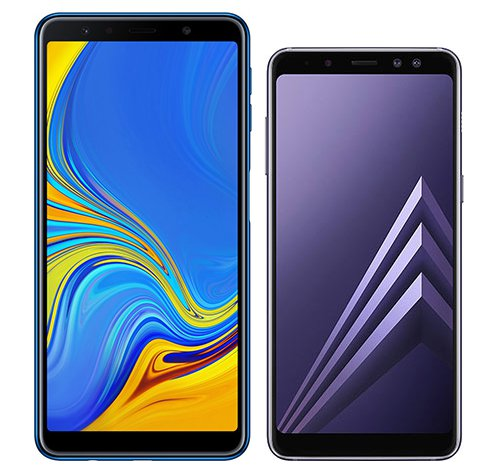 Smartphone Comparison: Samsung galaxy a7 2018 vs Samsung galaxy a8