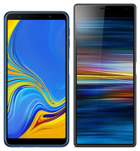 Smartphone Comparison: Samsung galaxy a7 2018 vs Sony xperia 10 plus