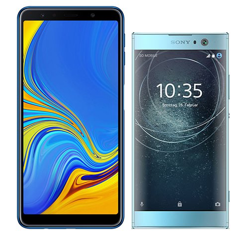 Smartphone Comparison: Samsung galaxy a7 2018 vs Sony xperia xa2