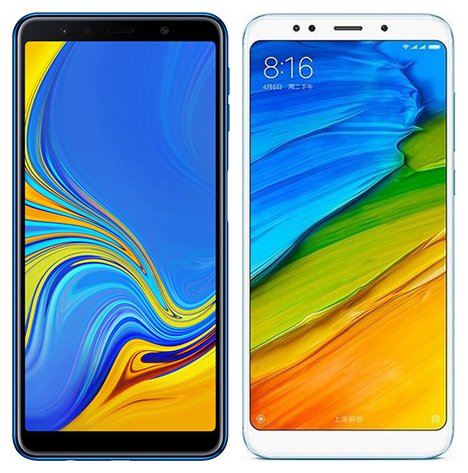 Smartphone Comparison: Samsung galaxy a7 2018 vs Xiaomi redmi 5 plus