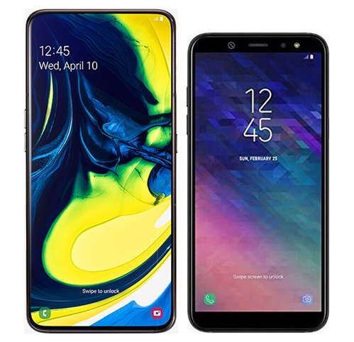 Smartphone Comparison: Samsung galaxy a80 vs Samsung galaxy a6