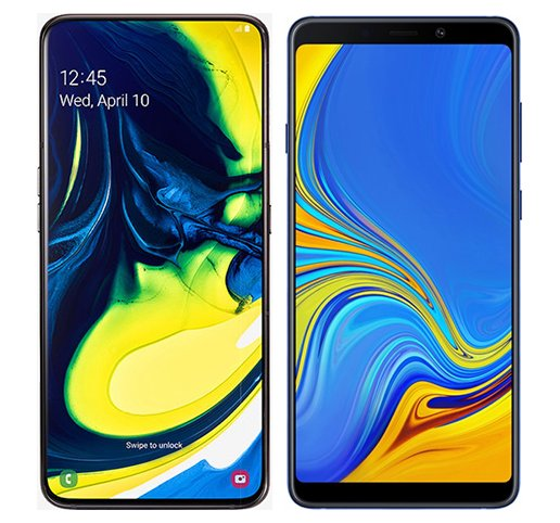 Smartphone Comparison: Samsung galaxy a80 vs Samsung galaxy a9