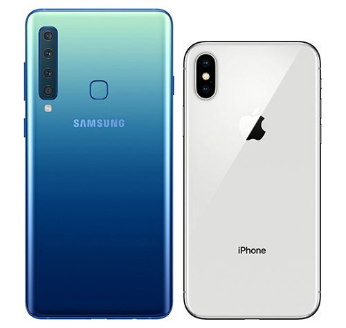 note 5 vs iphone X vs xperia z3