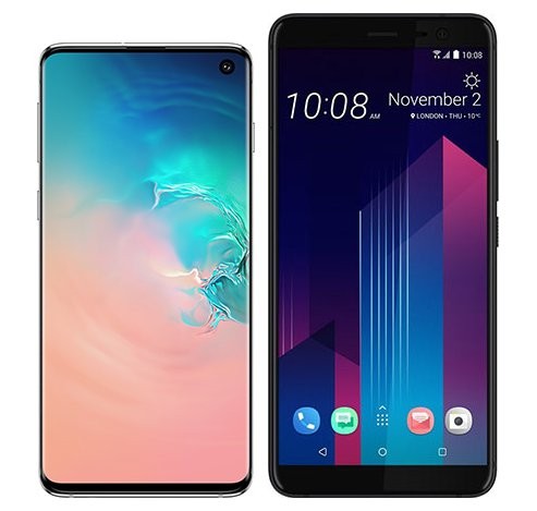 Smartphone Comparison: Samsung galaxy s10 vs Htc u11 plus