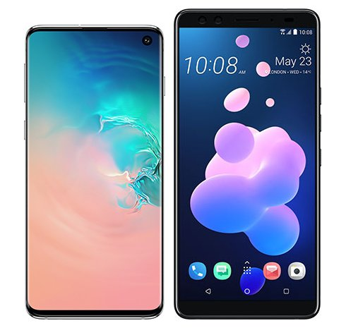 Smartphone Comparison: Samsung galaxy s10 vs Htc u12 plus