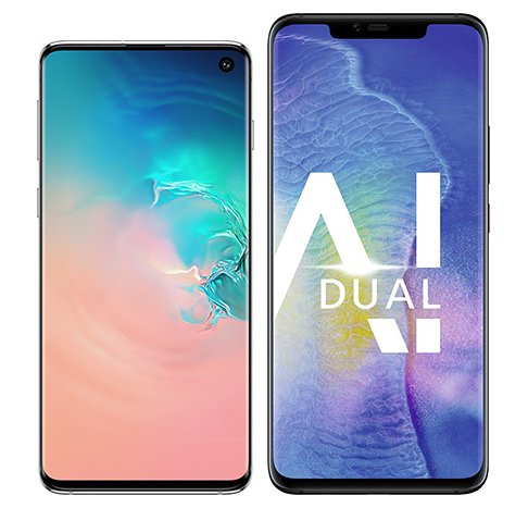 Smartphone Comparison: Samsung galaxy s10 vs Huawei mate 20 pro