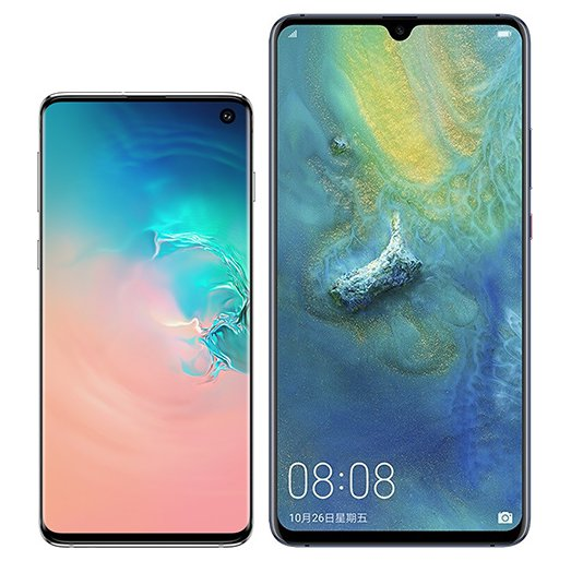 Smartphone Comparison: Samsung galaxy s10 vs Huawei mate 20 x