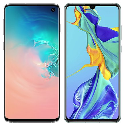 Smartphone Comparison: Samsung galaxy s10 vs Huawei p30