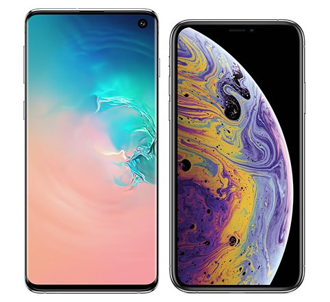 Smartphone Comparison: Samsung galaxy s10 vs Iphone xs