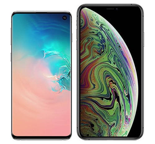 Smartphone Comparison: Samsung galaxy s10 vs Iphone xs max