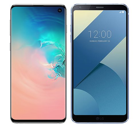 Smartphone Comparison: Samsung galaxy s10 vs Lg g6