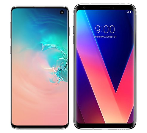 Smartphone Comparison: Samsung galaxy s10 vs Lg v30