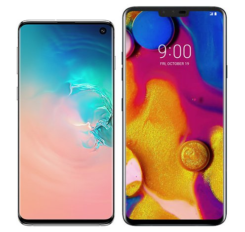 Smartphone Comparison: Samsung galaxy s10 vs Lg v40 thinq