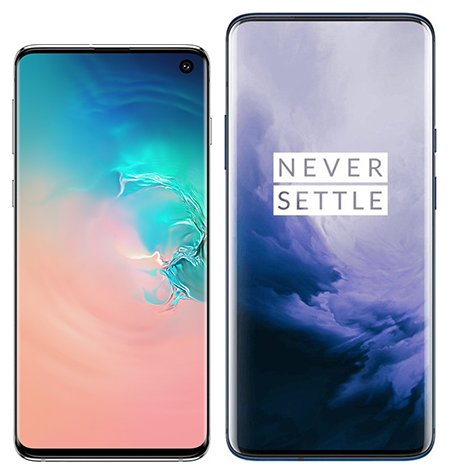 Smartphone Comparison: Samsung galaxy s10 vs One plus 7 pro
