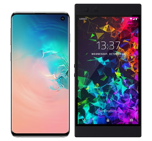 Smartphone Comparison: Samsung galaxy s10 vs Razer phone 2