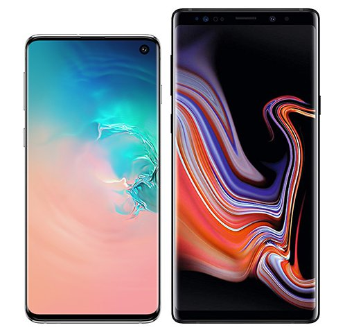 Smartphone Comparison: Samsung galaxy s10 vs Samsung galaxy note 9