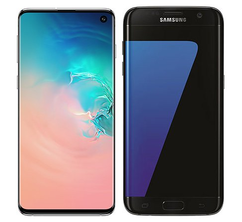 Smartphone Comparison: Samsung galaxy s10 vs Samsung galaxy s7 edge