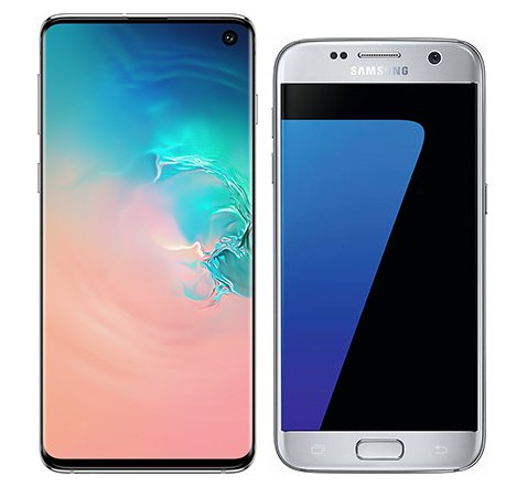 Smartphone Comparison: Samsung galaxy s10 vs Samsung galaxy s7