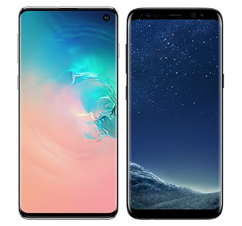 Smartphone Comparison: Samsung galaxy s10 vs Samsung galaxy s8