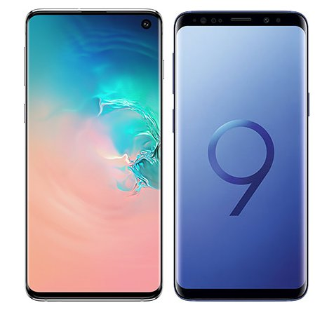 Smartphone Comparison: Samsung galaxy s10 vs Samsung galaxy s9