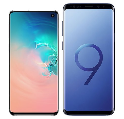 Smartphone Comparison: Samsung galaxy s10 vs Samsung galaxy s9 plus