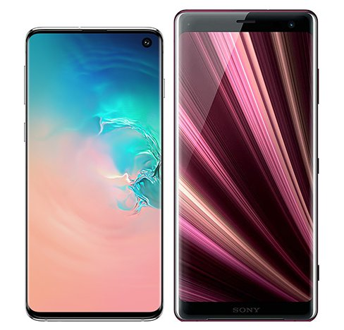 Smartphone Comparison: Samsung galaxy s10 vs Sony xperia xz3