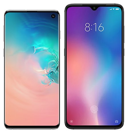Smartphone Comparison: Samsung galaxy s10 vs Xiaomi mi 9