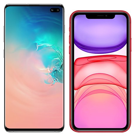 Smartphonevergleich: Samsung galaxy s10 plus oder Iphone 11