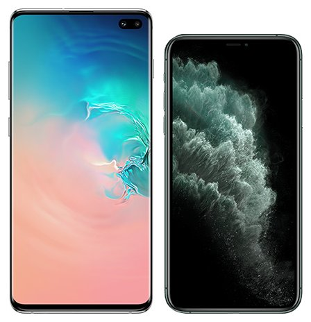 Smartphonevergleich: Samsung galaxy s10 plus oder Iphone 11 pro