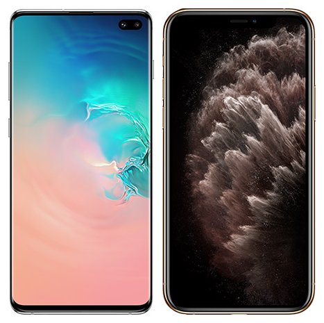 Smartphonevergleich: Samsung galaxy s10 plus oder Iphone 11 pro max