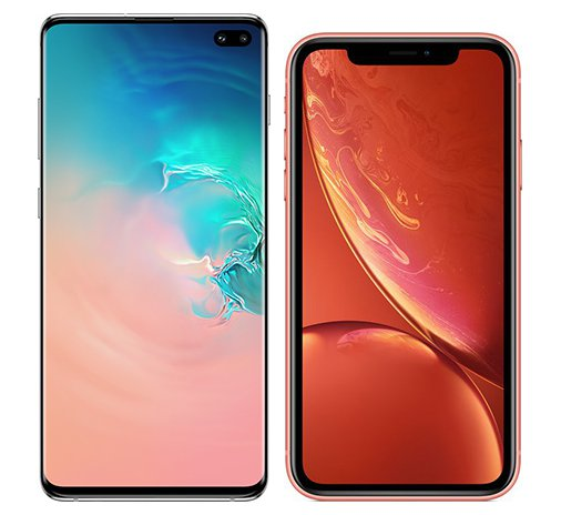 Smartphonevergleich: Samsung galaxy s10 plus oder Iphone xr