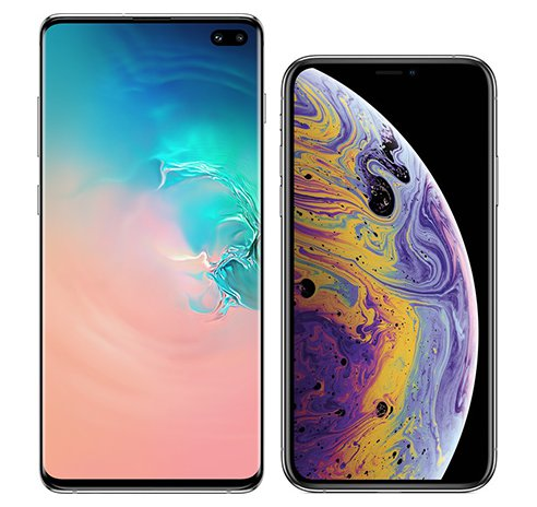 Smartphonevergleich: Samsung galaxy s10 plus oder Iphone xs