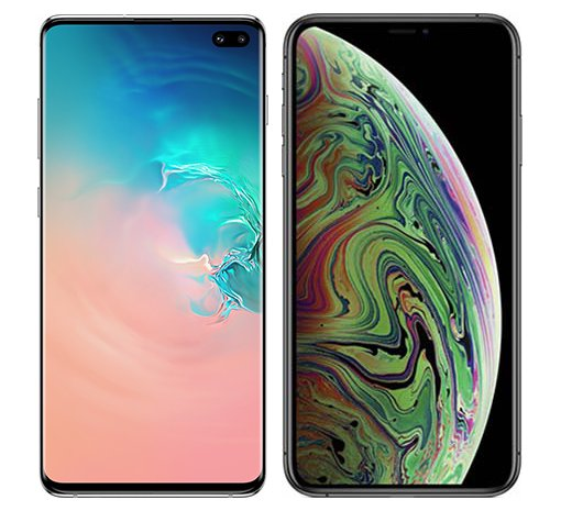 Smartphonevergleich: Samsung galaxy s10 plus oder Iphone xs max