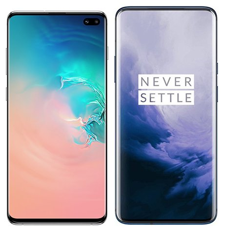 Smartphonevergleich: Samsung galaxy s10 plus oder One plus 7 pro