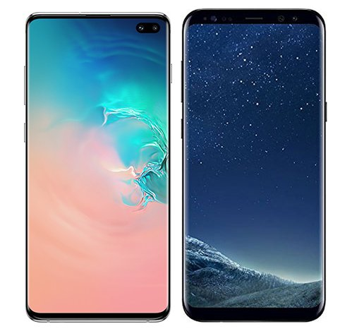 Smartphonevergleich: Samsung galaxy s10 plus oder Samsung galaxy s8 plus