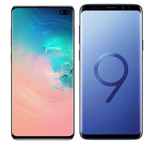 Smartphonevergleich: Samsung galaxy s10 plus oder Samsung galaxy s9 plus