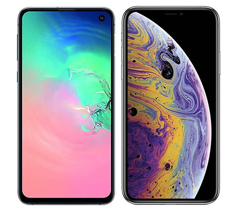 Smartphone Comparison: Samsung galaxy s10e vs Iphone xs