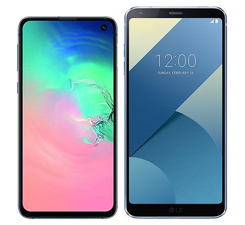 Smartphone Comparison: Samsung galaxy s10e vs Lg g6