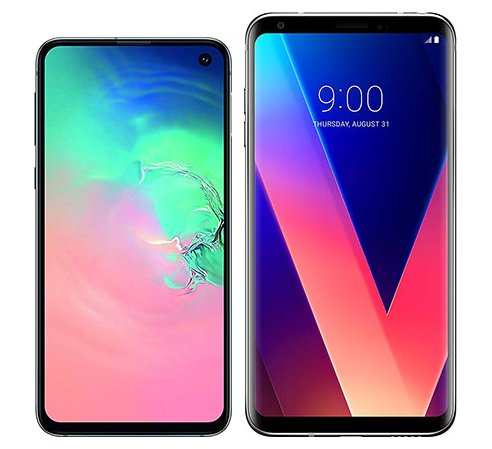 Smartphone Comparison: Samsung galaxy s10e vs Lg v30