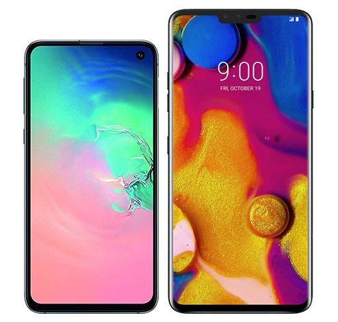 Smartphone Comparison: Samsung galaxy s10e vs Lg v40 thinq