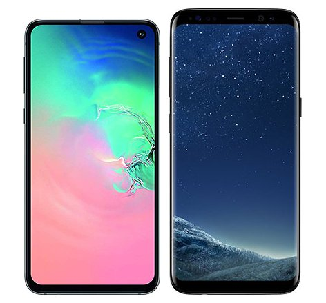 Smartphone Comparison: Samsung galaxy s10e vs Samsung galaxy s8