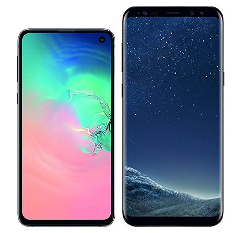 Smartphone Comparison: Samsung galaxy s10e vs Samsung galaxy s8 plus