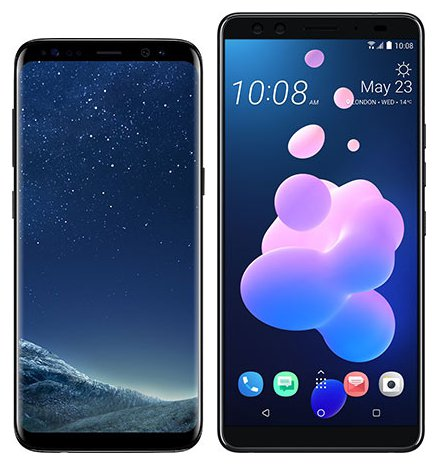 Smartphone Comparison: Samsung galaxy s8 vs Htc u12 plus