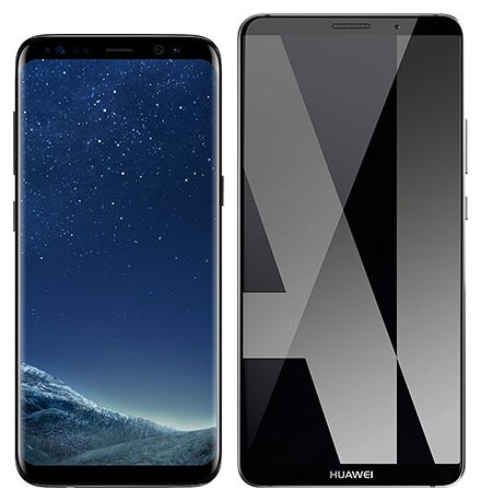 Smartphone Comparison: Samsung galaxy s8 vs Huawei mate 10 pro