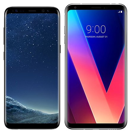 Smartphone Comparison: Samsung galaxy s8 vs Lg v30
