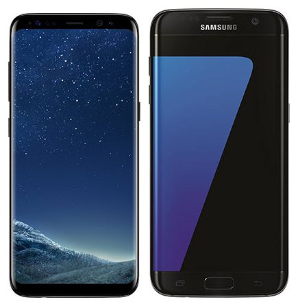 Smartphone Comparison: Samsung galaxy s8 vs Samsung galaxy s7 edge