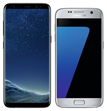 Smartphone Comparison: Samsung galaxy s8 vs Samsung galaxy s7